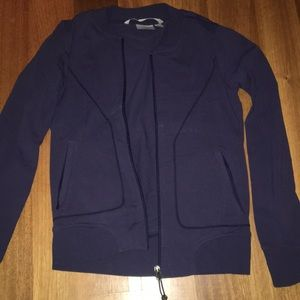 Athleta stretchy workout jacket